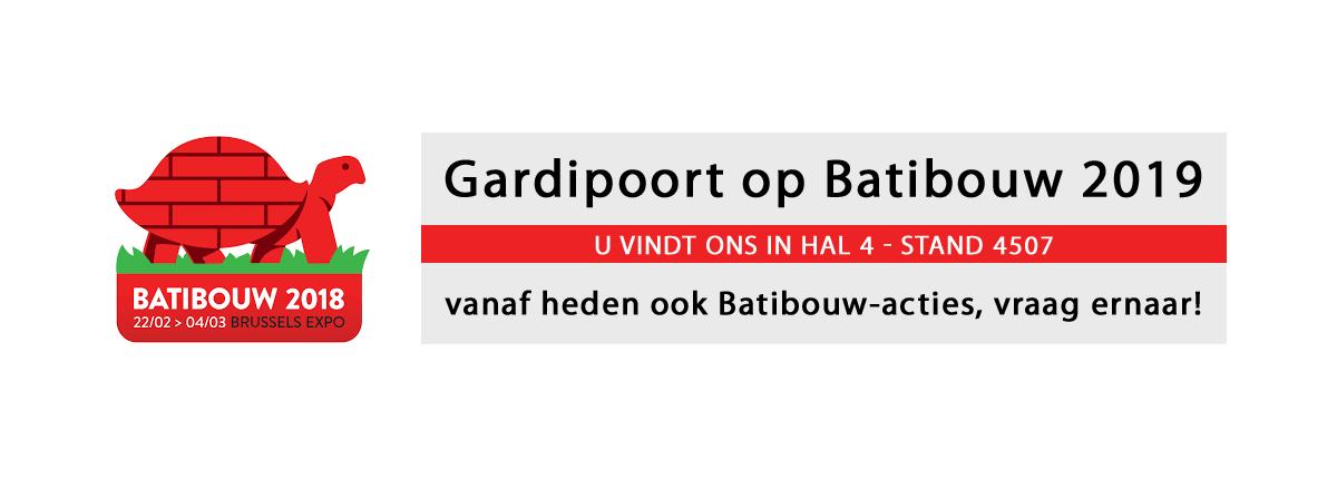 Gardipoort op Batibouw 2019